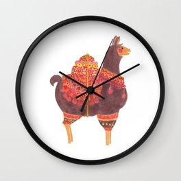The Lovely Llama Wall Clock