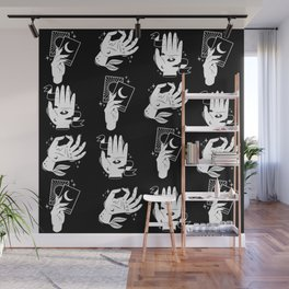 witch hands pattern Wall Mural