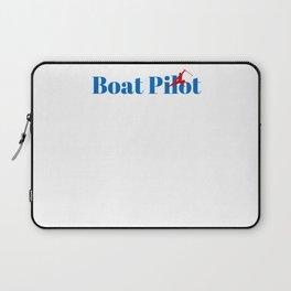 Top Boat Pilot Laptop Sleeve