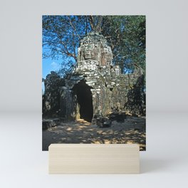 Angkor wat, Ta som temple Mini Art Print