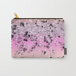 Unicorn Girls Glitter Stars #8 #shiny #decor #art #society6 Carry-All Pouch