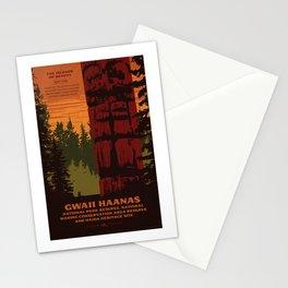 Gwaii Haanas National Park Reserve, National Marine Conservation Area Reserve & Haida Heritage Site Stationery Cards