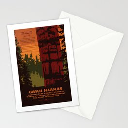 Gwaii Haanas National Park Reserve, National Marine Conservation Area Reserve & Haida Heritage Site Stationery Cards