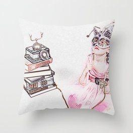 My Untold Fairy-Tales Series (2 0f 3) Throw Pillow