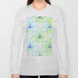 Flower Sketch 7 Long Sleeve T-shirt