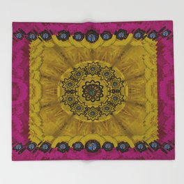 Yin and Yang Pattern Landscape Throw Blanket