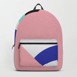Devil eye pink hide Backpack