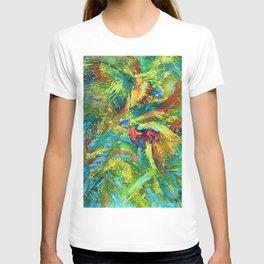 Lorikeet splash T-shirt