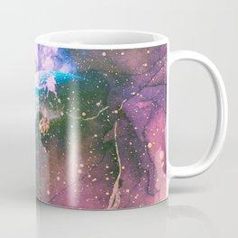 Space Earth Watercolor Coffee Mug