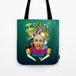 Pinball, Game of skill Tote Bag