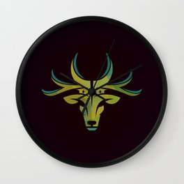 Royal Deer Wall Clock
