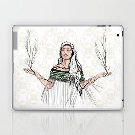 Hineraukatauri - Goddess of Birth Laptop & iPad Skin
