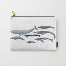 Whales Carry-All Pouch