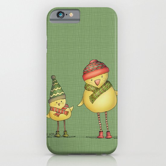 Two Chicks - green iPhone & iPod Case