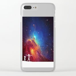 Rick and Morty - Star Viewing 2 Clear iPhone Case