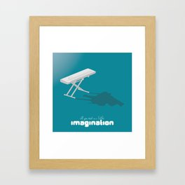 Never Forget to Play - Piano Framed Art Print