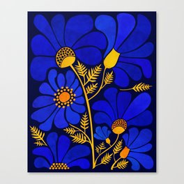 Wildflower Garden Canvas Print