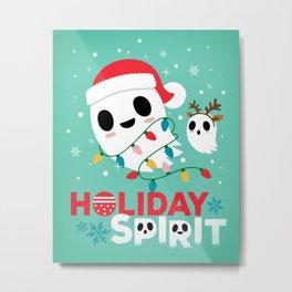 Holiday Spirit Metal Print