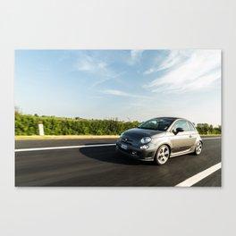 Abarth 595 Competizione Cabrio Canvas Print