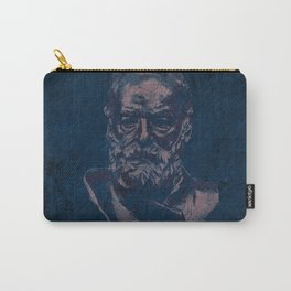 SCULPTURES / Victor Hugo by Auguste Rodin Carry-All Pouch
