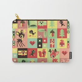Christmas Geometric Pattern No. 2. Carry-All Pouch