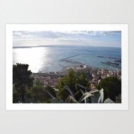 salerno Art Print