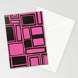 Windows & Frames - Pink Stationery Cards