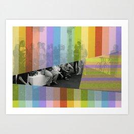 Kodachrome Reunion Art Print