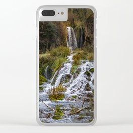 Roughlock Falls Clear iPhone Case