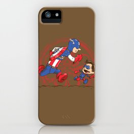 Let's be heroes iPhone Case