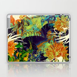 Skull Flora Laptop & iPad Skin