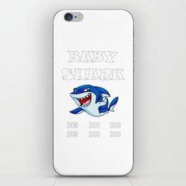 Baby Shark Doo Doo iPhone Skin