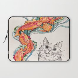 Wishes for Fishes Laptop Sleeve