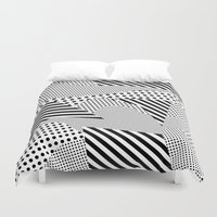 games Duvet Covers featuring Beach Games by Tyler Spangler