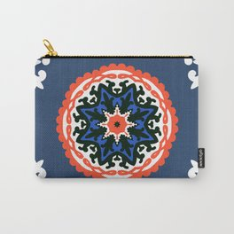Bold and bright beauty of suzani patterns ver.6 Carry-All Pouch
