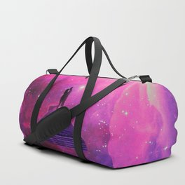 Kiss into the universe Duffle Bag