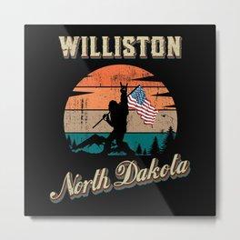 Williston North Dakota Metal Print