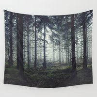 astronomy Wall Tapestries featuring Through The Trees by Tordis Kayma