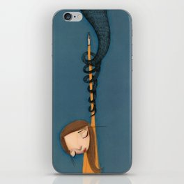 drowned in Liquid  iPhone Skin