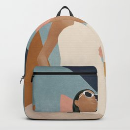 Living in Abstraction Backpack