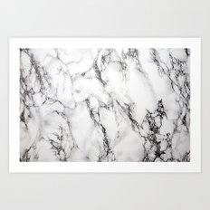 Marble #texture Art Print