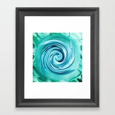 Orbital Framed Art Print