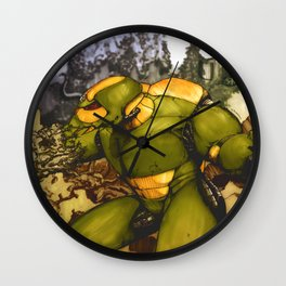 Green Suit Wall Clock