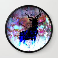 royal Wall Clocks featuring Royal by SuzanneCarter