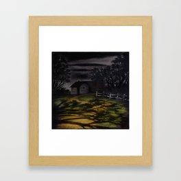 Sequestered Framed Art Print