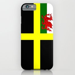 Flag of Saint David iPhone Case