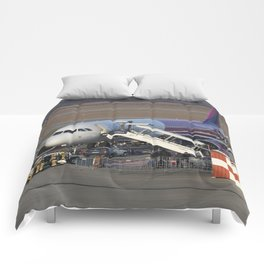 Wizz Air Jet And Fire Brigade Comforters