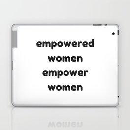 EMPOWERED WOMEN EMPOWER WOMEN Laptop & iPad Skin