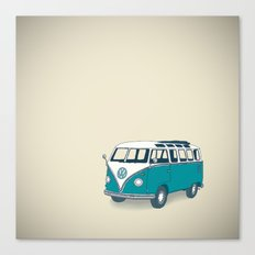 VW Campervan II Canvas Print