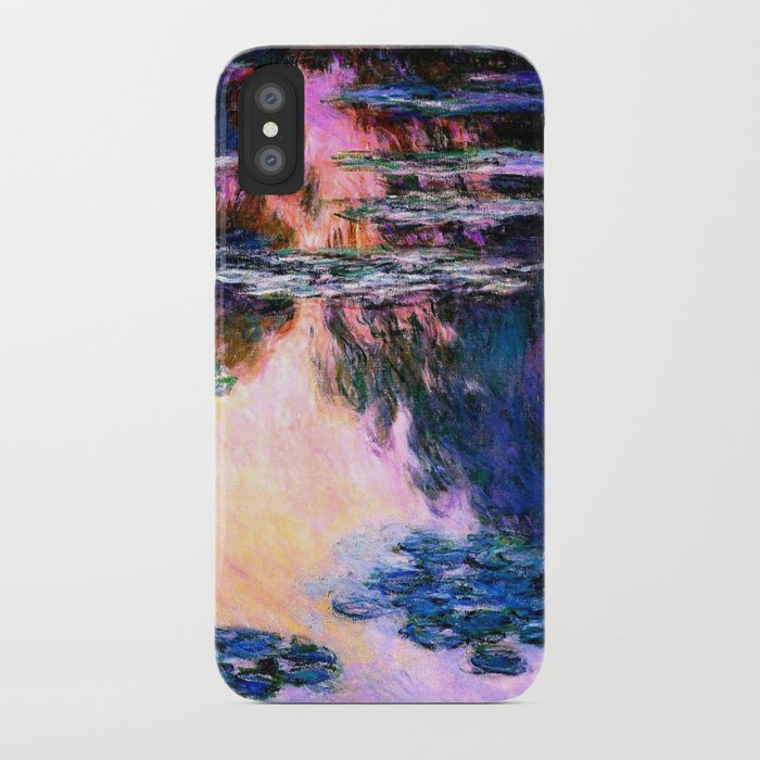 pretty nice 31d89 8eded Monet : Water Lilies iPhone Case